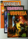 Magazines:Horror, Vampirella Group (Warren, 1969-74) Condition: Average VG+.... (Total: 8 Comic Books)