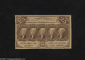 Fractional Currency:First Issue, Fr. 1281 25c First Issue About New. Scrutiny reveals a center fold on this note....