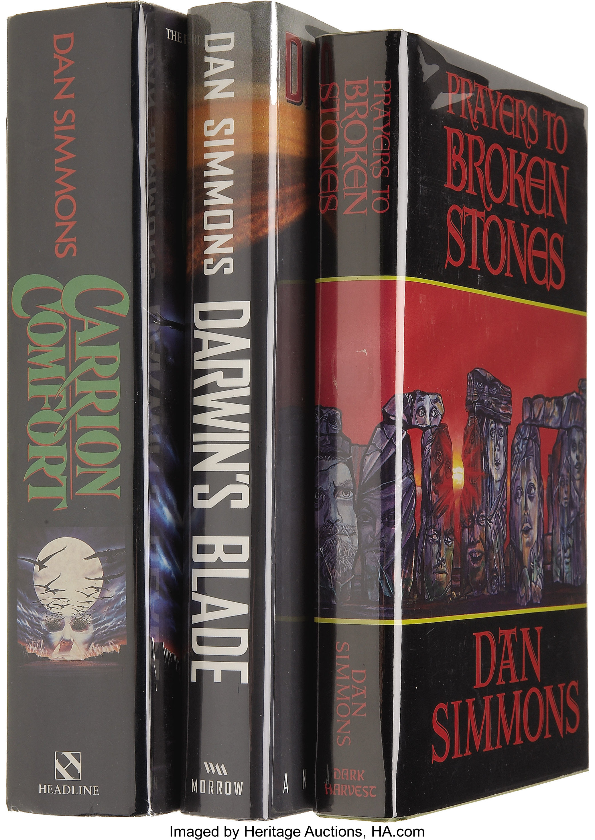 Dan Simmons Three Signed Books Total 3 Items Books Signed Lot 61658 Heritage Auctions