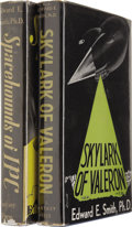 Books:First Editions, Edward E. Smith: Two First Editions. Includes the following:.Spacehounds of IPC (Reading, PA: Fantasy Press, 1949),...(Total: 2 Item)