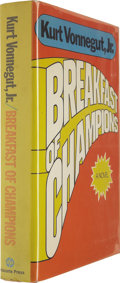 Books:First Editions, Kurt Vonnegut, Jr.: Breakfast of Champions (New York:Delacorte Press, 1973), first edition, 295 pages, red boards,8vo,... (Total: 1 Item)