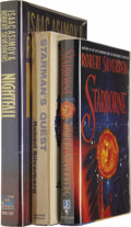 Books:Signed Editions, Robert Silverberg: Three Signed First Editions.... (Total: 3 Items)