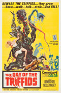 """Movie Posters:Science Fiction, The Day of the Triffids (Allied Artists, 1962). One Sheet (27"""" X 41"""").. ..."""