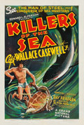 "Movie Posters:Documentary, Killers of the Sea (Grand National, 1937). One Sheet (27.5"" X41"").. ..."