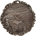 Miscellaneous Collectibles:General, 1909-11 Indianapolis Motor Speedway Silver Award Medal....