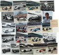 Miscellaneous Collectibles:General, Indianapolis 500 Racing Greats Signed Photographs Lot of 19.. ...