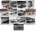 Miscellaneous Collectibles:General, Indianapolis 500 Racing Greats Signed Photographs Lot of 12....
