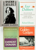 Books:Biography & Memoir, [Biography]. Group of Four Related to Oscar Wilde and OtherWriters. Various publishers and dates. One, Golden Codgers,... (Total: 4 Items)