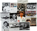 Miscellaneous Collectibles:General, 1980's Collection of Signed Racing Photographs. ...