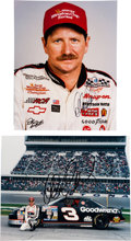 Miscellaneous Collectibles:General, 1990's Dale Earnhardt Sr. Signed Photographs Lot of 2. ...