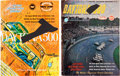 Miscellaneous Collectibles:General, 1960s Daytona 500 Multi Signed Programs Covers Lot of 2....