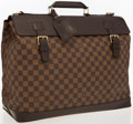 "Luxury Accessories:Accessories, Louis Vuitton Damier Ebene Canvas West End Travel Bag. ExcellentCondition. 17"" Width x 14"" Height x 8"" Depth. ..."