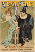 19th Century European, P. GELIS-DIDOT (French, 19th century) and LOUIS MALTESE (French,19th century). Absinthe Parisienne, 1894. Color poster...