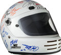 Miscellaneous Collectibles:General, 2000's American Speed Association Racing Series Multi-SignedHelmet....