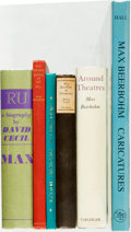 Books:Art & Architecture, [Biography/Art]. Group of Six Books Related to Max Beerbohm. Various publishers and dates.... (Total: 6 Items)