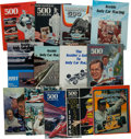 Miscellaneous Collectibles:General, 1973-96 Hungness Indianapolis 500 Yearbooks Lot of 25+....