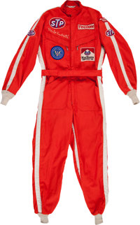 1970 Mario Andretti USAC Championship Car Race Worn Fire Suit