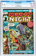 Bronze Age (1970-1979):Horror, Dead of Night #1 (Marvel, 1973) CGC NM+ 9.6 Off-white to whitepages....