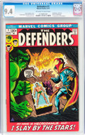 Bronze Age (1970-1979):Superhero, The Defenders #1 (Marvel, 1972) CGC NM 9.4 Off-white to white pages....