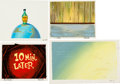 Animation Art:Painted cel background, Ren and Stimpy Show Painted Background Group (GamesAnimation, 1996).... (Total: 4 Original Art)