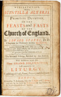 Books:Religion & Theology, Edward Sparke. Primitive Devotion, in the Feasts and Fasts of the Church of England. London: J. Redmayne, 1682. Cont...