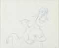 Animation Art:Production Drawing, Pete's Dragon Elliot Animation Drawing (Walt Disney,1977)....