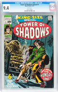 Bronze Age (1970-1979):Horror, Tower of Shadows Annual #1 (Marvel, 1971) CGC NM 9.4 Whitepages....