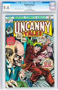Bronze Age (1970-1979):Horror, Uncanny Tales #1 (Marvel, 1973) CGC NM 9.4 White pages....