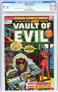 Bronze Age (1970-1979):Horror, Vault of Evil #1 (Marvel, 1973) CGC NM 9.4 White pages....