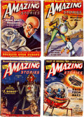 Pulps:Science Fiction, Amazing Stories Box Lot (Ziff-Davis, 1938-52) Condition: AverageVG....