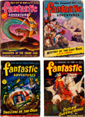 Pulps:Science Fiction, Fantastic Adventures Box Lot (Ziff-Davis, 1944-52) Condition:Average VG-....