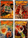 Pulps:Science Fiction, Startling Stories Box Lot (Standard, 1940-55) Condition: AverageGD/VG....
