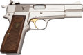 Handguns:Semiautomatic Pistol, FN Browning Hi-Power Semi-Automatic Pistol....