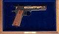 Handguns:Semiautomatic Pistol, Cased Commemorative Government Model 1911 Semi-Automatic Pistol....