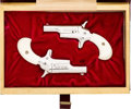 Handguns:Derringer, Palm, Cased Pair of Colt Limited Edition Derringers.... (Total: 2 Items)