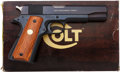 Handguns:Semiautomatic Pistol, Boxed Colt Government Model MK IV / Series '70 Semi-AutomaticPistol....