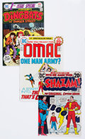 Bronze Age (1970-1979):Miscellaneous, Comic Books - Assorted Autographed Bronze and Modern Age ComicsGroup (Various Publishers, 1970s-90s).... (Total: 4 Comic Books)