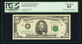 Error Notes:Mismatched Serial Numbers, Fr. 1973-J $5 1974 Federal Reserve Note. PCGS Choice New 63.. ...