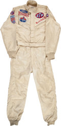 Miscellaneous Collectibles:General, 1969 Mario Andretti Only Career Indianapolis 500 Victory Race WornFire Suit....