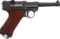 Handguns:Semiautomatic Pistol, German S-42 G Date Luger Pistol with Holster....