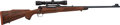 Long Guns:Bolt Action, Walter S. Abe Custom Restocked .270 Winchester Pre-64 Model 70 BoltAction Rifle with Telescopic Sight.. ...