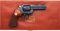Handguns:Double Action Revolver, Cased Colt Python Double Action Revolver....