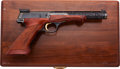Handguns:Semiautomatic Pistol, Cased Browning Medalist Semi-Automatic Target Pistol....