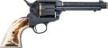 Handguns:Single Action Revolver, Custom Engraved Colt Single Action Army Revolver by J.R. French....