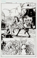 Original Comic Art:Splash Pages, Reilly Brown and Nelson DeCastro Incredible Hercules #136Splash Page 1 Original Art (Marvel, 2009)....