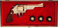 Handguns:Double Action Revolver, Cased and Engraved Smith and Wesson Model 28-2 Double Action Revolver....