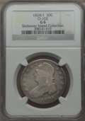 1824/1 50C O-102, High R.5, Good 6 NGC. NGC Census: (0/0). PCGS Population (1/6). From The Skidaway Island Collection...