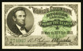 Miscellaneous:Other, World's Columbian Exposition Lincoln Ticket 1893 Gem CrispUncirculated.. ...