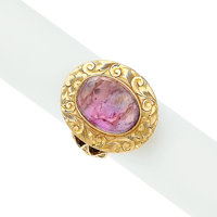 Quartz, Gold Ring