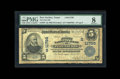 National Bank Notes:Texas, Port Neches, TX - $5 1902 Plain Back Fr. 607 The First NB Ch. # (S)11799. This new discovery raises the census to a meag...